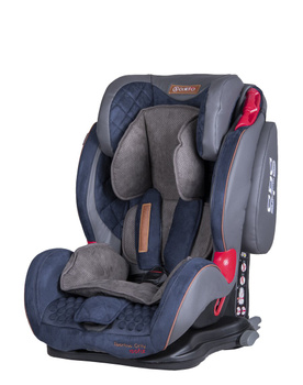 Дитяче автокрісло Coletto Sportivo Only Isofix Blue (группа 1/2/3, 9-36 кг)