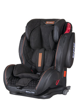 Дитяче автокрісло Coletto Sportivo Only Isofix Black (группа 1/2/3, 9-36 кг)