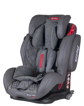 Дитяче автокрісло Coletto Sportivo Only Isofix Grey (группа 1/2/3, 9-36 кг)