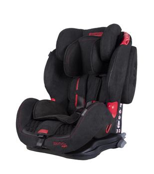 Дитяче автокрісло Coletto Sportivo Isofix Black New (группа 1/2/3, 9-36 кг)