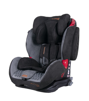 Дитяче автокрісло Coletto Sportivo Isofix Grey+Black (группа 1/2/3, 9-36 кг)